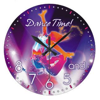 Dansare den Time väggen tar tid på Stor Rund Klocka