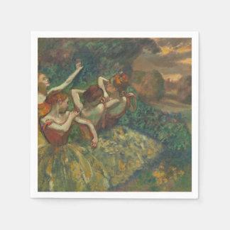 Dansare fyra Degas by coctailservetten Pappersservett