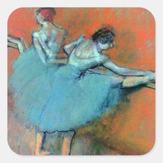 Dansare på puben Degas by Fyrkantigt Klistermärke