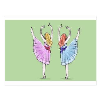 Dansen är poesi i rörelse vykort