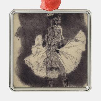 Dansen av död vid Felicien Rops Jul Dekorationer