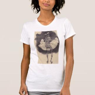 Dansen av död vid Felicien Rops T-shirts
