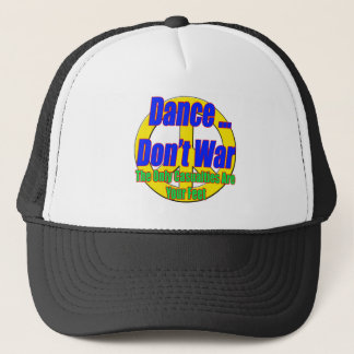 Dansen kriger inte hatten truckerkeps
