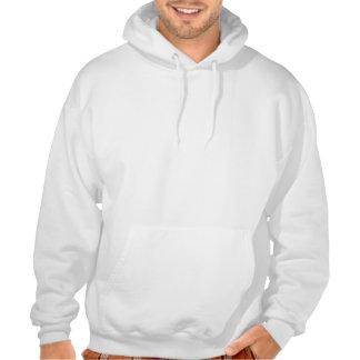 Dansen med noterar hoodien tröja med luva