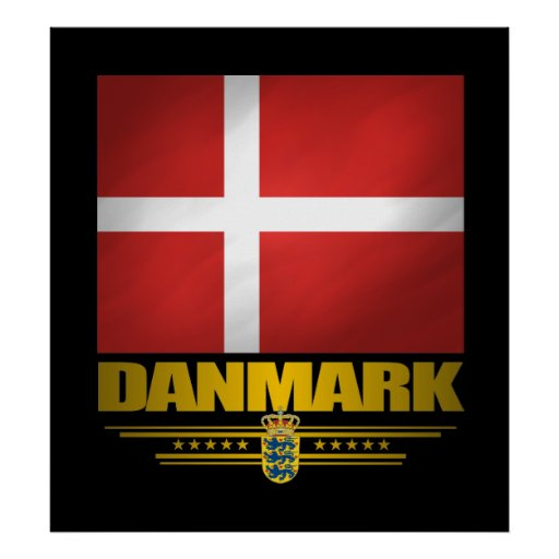 """Dansk pride "", Print"