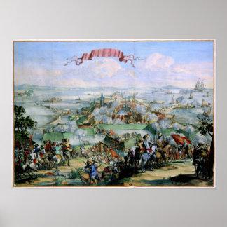 Danskaerövringen av Kristianstadt 1675 Poster
