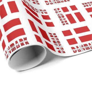 Danskaflagga Danmark Dannebrog Presentpapper