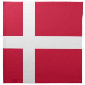 Danskaflagga på den MoJo servetten Tygservett