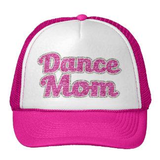 Dansmammakvinna glitter för hatt keps