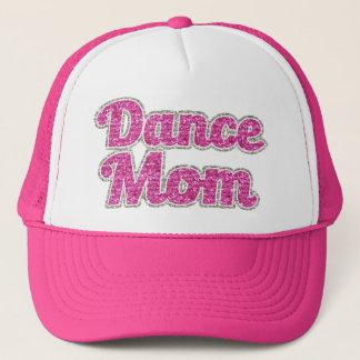 Dansmammakvinna glitter för hatt truckerkeps