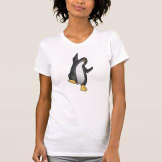 Danspingvin med den Rumi citationsteckenT-tröja T-shirts