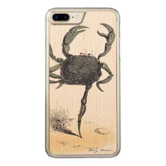 Dansskaldjur på trä carved iPhone 7 plus skal