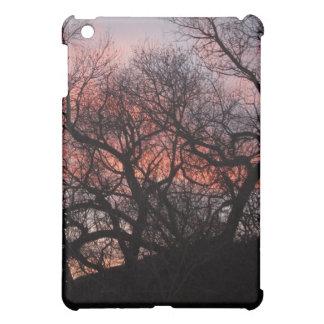 Dansträdskelett på solnedgången iPad mini skal