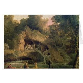 D'Apolloen för Bosquet des Bains Hälsningskort