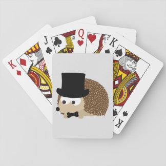 Dapper igelkott casinokort