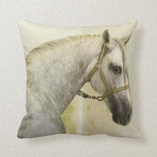Dapple den gråa Andalusian hästen Kudde
