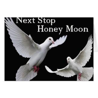 därefter stopphonungmåne hälsningskort