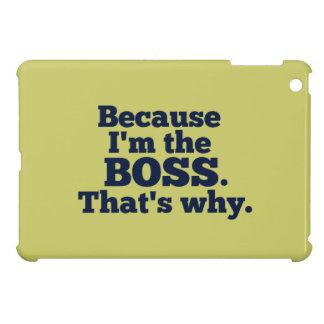 Därför att I-förmiddagen chefen, det är varför iPad Mini Mobil Skydd