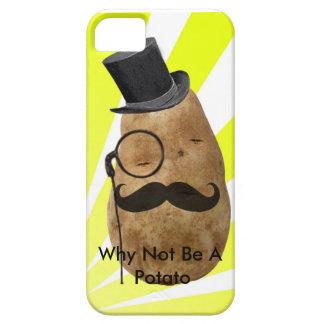 Därför att inte vara en potatis iPhone 5 skal
