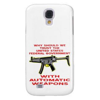 Därför bör vi litar på Mata-Goven med Auto vapen Galaxy S4 Fodral