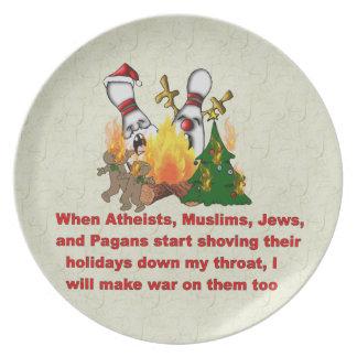 Därför det finns krig på jul tallrik