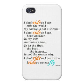 Därför jag rider iPhone 4 fodral