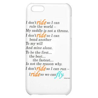 Därför jag rider iPhone 5C mobil skal