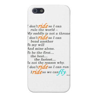 Därför jag rider iPhone 5 cases