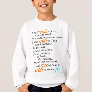 Därför jag rider t shirts