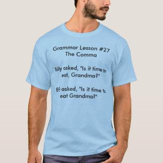 Därför korrekt interpunktion är viktig t-shirts
