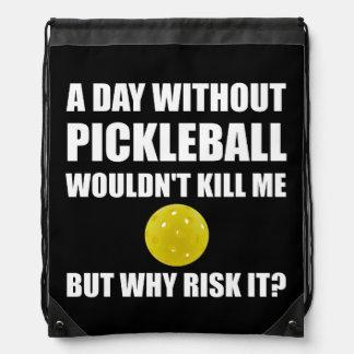 Därför riskera det Pickleball, Gympapåse