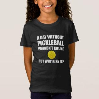 Därför riskera det Pickleball, T-shirts