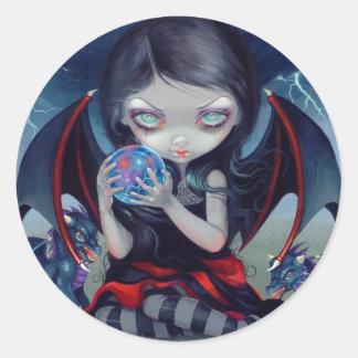 """Dark Dragonling"" Sticker Autocollants"