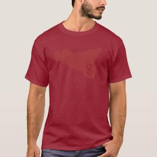 Darkred Sicilia Tee Shirt
