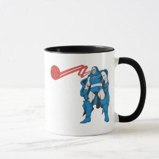 Darkseid använder Psionic överhet Mugg