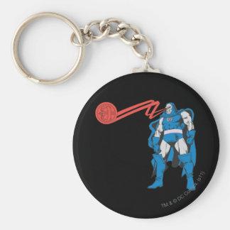Darkseid använder Psionic överhet Rund Nyckelring
