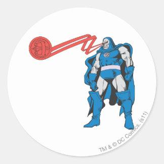 Darkseid använder Psionic överhet Runt Klistermärke