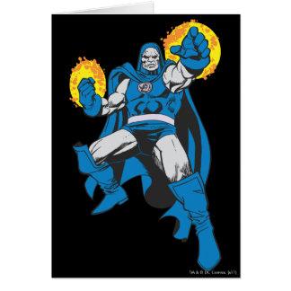 Darkseid & den Omega styrkan Hälsningskort