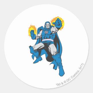 Darkseid & den Omega styrkan Runt Klistermärke