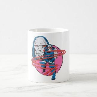 Darkseid forar Omega strålar Kaffemugg