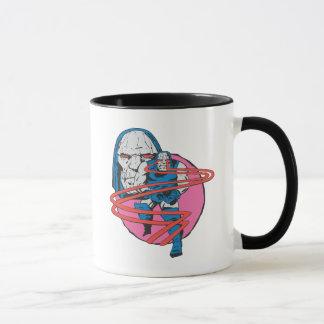 Darkseid forar Omega strålar Mugg