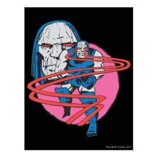 Darkseid forar Omega strålar Vykort
