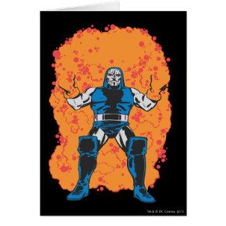 Darkseid förstörelse hälsningskort