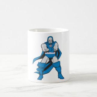 Darkseid poserar kaffemugg
