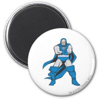 Darkseid poserar magnet