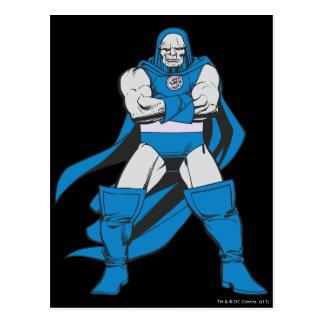 Darkseid poserar vykort