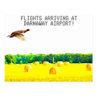 Darnaway flygplats vykort