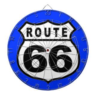 Dartboard - Americana RUTT 66 för vintage Darttavla