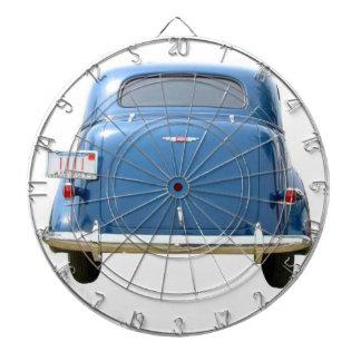 Dartboard - blått Chevy för vintage 1940! Darttavla