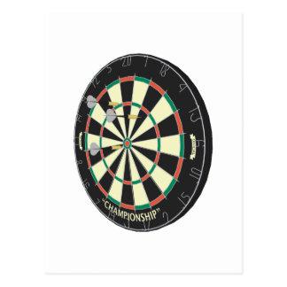 Dartboard & pilar: 3D modellerar: Vykort